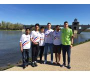 Les volleyeurs champions de France