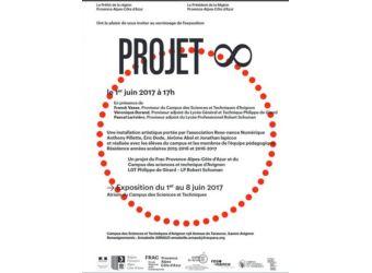Inauguration Résidence d'artiste Projet Infini