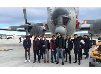 Visite à la base aéronavale d'Hyères